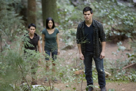 Seth, Leah, and Jacob form a new pack from the Summit Entertainment film Breaking Dawn Part 1