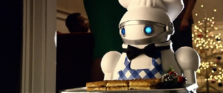 waffle bot from the Warner Bros Pictures film a Very Harold and Kumar 3D Christmas