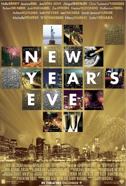 poster from the New Line Cinema film New Years Eve
