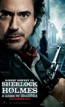 poster from the Warner Bros. Pictures film Sherlock Holmes a Game of Shadows