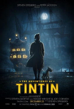 poster from the Paramount Pictures film The Adventures of Tintin