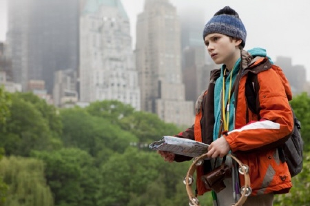 Oskar goes on an adventure from the Warner Bros. Pictures film Extremely Loud and Incredibly Close