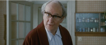 Jim Broadbent as old Denis Thatcher from the Film 4 movie The Iron Lady