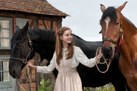 Emilie with Claude and Francois from the Dreamworks SKG film War Horse