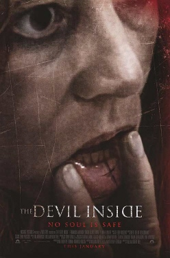 poster from the film The Devil Inside