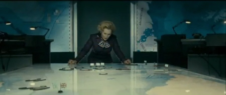 Thatcher at war from the Film 4 movie The Iron Lady