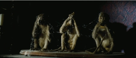 creepy monkeys from the CBS Films movie The Woman in Black