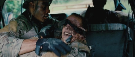 Mikey gets shot in the face from the Bandito Brothers film Act of Valor