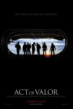 poster from the Bandito Brothers film Act of Valor