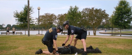 Jenko and Schmidt make their first arrest from the Columbia Pictures film 21 Jump Street