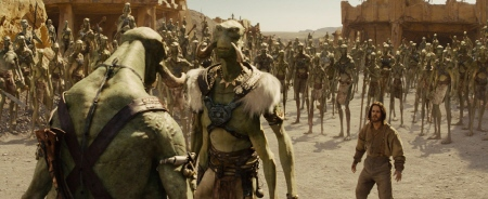 Tars Tarkas is challenged for leadership from the Walt Disney Pictures film John Carter