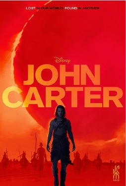 poster from the Walt Disney Pictures film John Carter