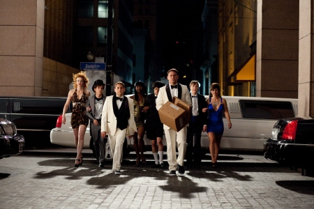 going to prom with doves from the Columbia Pictures film 21 Jump Street
