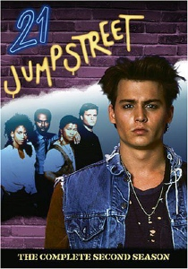 DVD cover for the Fox TV show 21 Jump Street from 1987