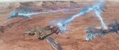 9th ray laser airship battle from the Walt Disney Pictures film John Carter