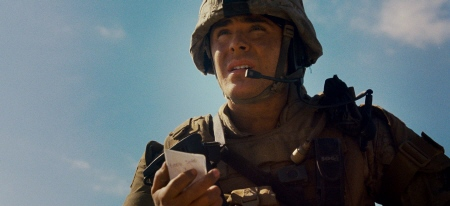 Zac Efron as a Marine from the Warner Bros. Pictures film The Lucky One