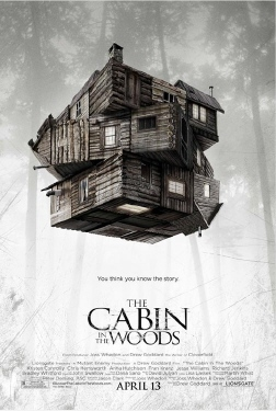 poster from the Mutant Enemy film Cabin in the Woods