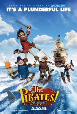 poster from the Aarman/Sony film The Pirates!