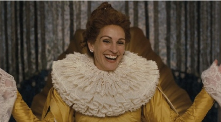 Julia Roberts as the evil queen from the Relativity Media film Mirror Mirror