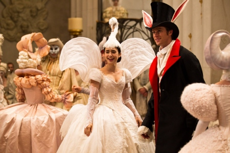Snow White and Alcott at the ball from the Relativity Media film Mirror Mirror