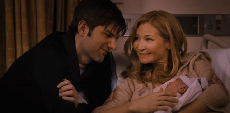 Adam Scott and Jennifer Westfeldt from the Point West Pictures film Friends With Kids