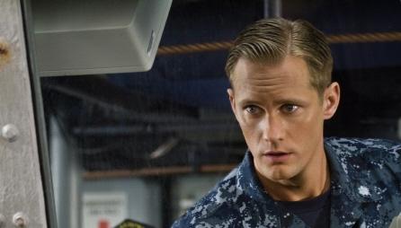 Alexander Skarsgard as Stone Hopper from the Universal Pictures film Battleship