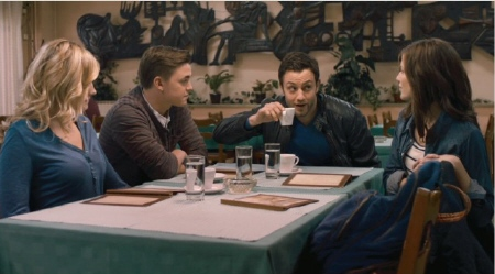 the tourists at breakfast from the Alcon Entertainment film Chernobyl Diaries