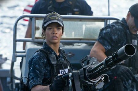 Rihanna from the Universal Pictures film Battleship