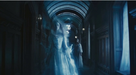 Victoria and the ghost of Josette from the Warner Bros. Pictures film Dark Shadows