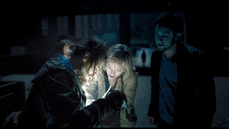 looking at the map from the Alcon Entertainment film Chernobyl Diaries