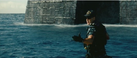 Taylor Kitsch as Alex Hopper from the Universal Pictures film Battleship