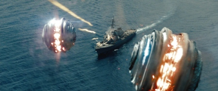 Morph Balls vs Destroyer from the Universal Pictures film Battleship
