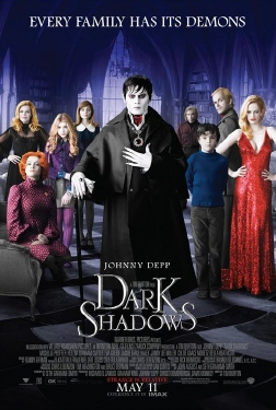 poster from the Warner Bros. Pictures film Dark Shadows