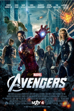 poster from the Marvel Studios film The Avengers