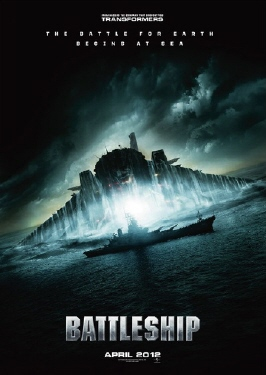 poster from the Universal Pictures film Battleship