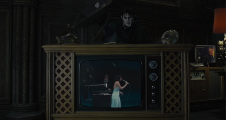 Barnabas seeks the tiny songstress from the Warner Bros. Pictures film Dark Shadows