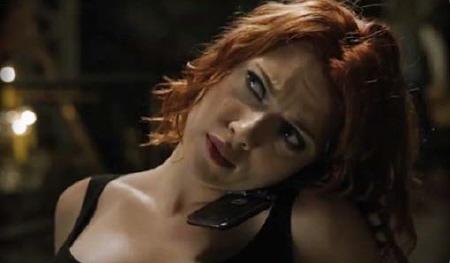 Natasha Romanoff interrogation from the Marvel Studios film The Avengers