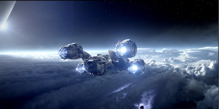 the Prometheus looke like Serenity from the 20th Century Fox film Prometheus