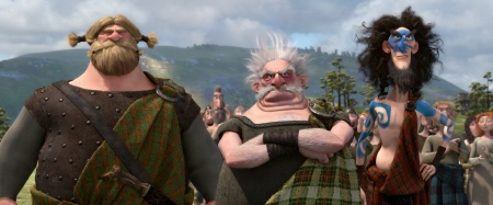 the three lords from the Disney Pixar film Brave