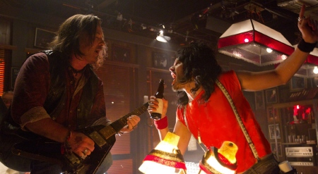 Dennis and Lonny can't fight this feeling anymore in the Warner Bros. Pictures film Rock of Ages