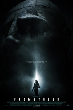 poster from the 20th Century Fox film Prometheus