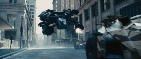 The Bat urban combat helicopter from the Legendary Pictures film Dark Knight Rises