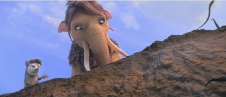 Peaches and Louis from the 20th Century Fox Film Ice Age Continental Drift
