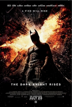 poster from the Legendary Pictures film Dark Knight Rises