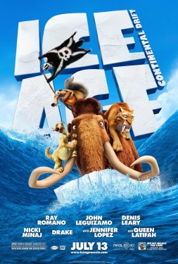 poster from the 20th Century Fox Film Ice Age Continental Drift