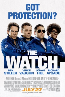 poster from the Twentieth Century Fox film The Watch