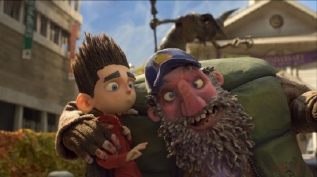 Norman and his crazy uncle Prenderghast from the Laika Entertainment film Paranorman