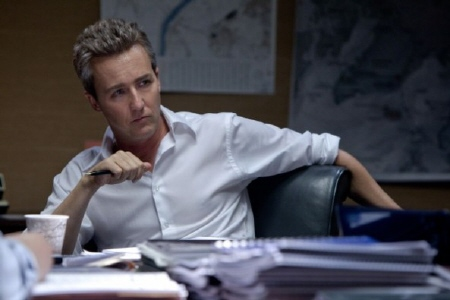 Edward Norton as Eric Beyer from the Universal Pictures film The Bourne Legacy