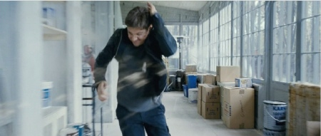 Aaron Cross under attack from the Universal Pictures film The Bourne Legacy