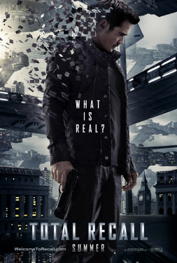 poster from the Columbia Pictures film Total Recall 2012